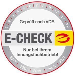 E-Check und Elektroprüfung