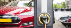 Ladestation für Elektroautos, E-Autos und Elektrofahrzeuge